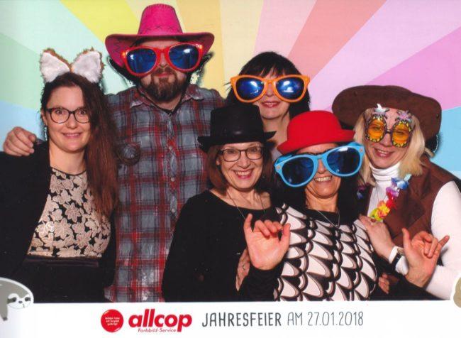 Allcop 2018 Selfiebox